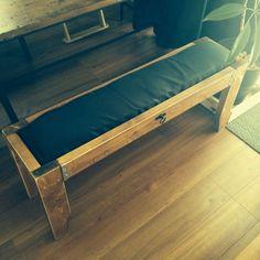 kikorさんの作品『簡単!木材3本でベンチイス』 | セルフリフォーム.com