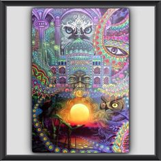 """Big News! Alfredo Zagaceta C will be having a showing of his work right here in New York City at 5PM EST on Saturday, September 12th! I've always thought his ayahuasca experience inspired paintings would lend themselves well to a Tarot deck some day. He is a student of Pablo Amaringo. """"Visionaries of the Amazon"""" Sacred Arts Research Foundation 107 Green St #G55 Brooklyn, New York 11222 Yahoo!  #Tarot #tarotreader #tarotcardreader #tarotnyc #tarotnewyork…"""