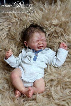 Reborn doll by Andrea Heeren rebornDELUXE  Rebornbaby lifelike reborned  Edwin by Elisa Marx