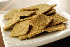 Raw Walnut Zucchini Crackers