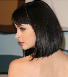 Krysten Ritter--sleek, face-framing hair