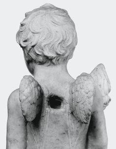 Mino da Fiesole, Puttino in Piedi, Polo Museale Fiorentino (Florence) [inventory Sculpture (Bargello) n. 999]