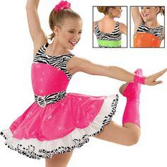 Yellow Dance Dress Costume Revolution Dancewear Lollipops And Gummi Bears MC