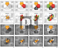 Business Teamwork Process for PowerPoint Presentations