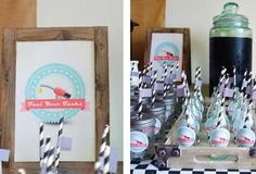 Vintage Racing Car Party | CatchMyParty.com