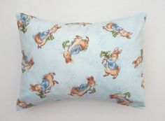 Beatrix Potter Peter Rabbit PILLOW COVER & by TheYellowDuckieShop