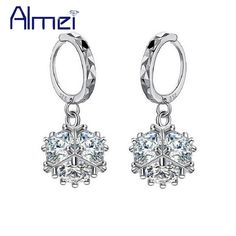 Find More Drop Earrings Information about Almei Earrings for Women Brincos Drop Earrings with Stones Christmas Gifts CZ Diamond Long Earings Female Brincos Jewelry EH134,High Quality long drop earrings,China long earrings Suppliers, Cheap earrings for from Almei Jewelry Store on Aliexpress.com