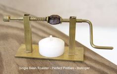 World's smallest coffee roaster, made by Dan Bollinger