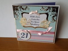 Personalised 21st Card