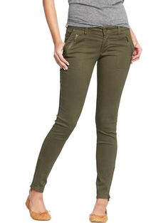 Old Navy | Women's The Rockstar Zip-Pocket Pants in Tall- perfect for fall (: