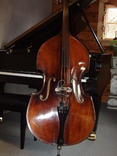 Upright bass and Piano