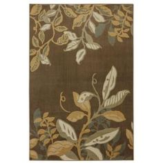 Mohawk Home Clarisse Dark Brown 5 ft. 3 in. x 7 ft. 6 in. Area Rug-311674 at The Home Depot