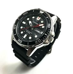 Mens Casio Divers Style Solar Powered Watch - Casio Watch - Ideas of Casio Watch Sport Watches, Cool Watches, Casio Watch Price, Casio Digital, Casio Edifice, Solar Watch, Citizen Eco, Leather Watch Bands, Stainless Steel Watch