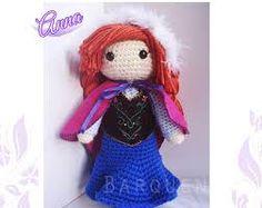 Princesas disney amigurumi : Pattern pack anna and elsa frozen crochet amigurumi dolls