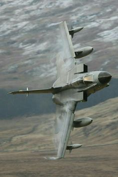 Tonka through the Mach Loop! Awesome!