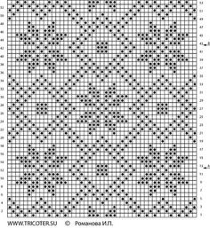 Beginning Cross Stitch Embroidery Tips Crochet Diagram, Crochet Chart, Crochet Motif, Crochet Doilies, Knitting Machine Patterns, Knitting Charts, Knitting Stitches, Tapestry Crochet Patterns, Weaving Patterns