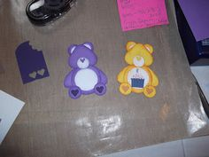 Craft Break for Me: Punch Art Care Bears Tutorial Paper Punch Art, Punch Art Cards, Care Bear Party, Candy Cards, Card Making Tutorials, Card Sketches, Kids Cards, Greeting Cards Handmade, Homemade Cards