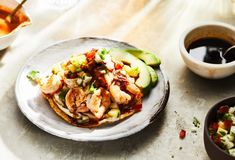 Pati Jinich » Sonoran Style Shrimp and Scallop Tostada