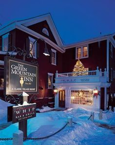 Green Mountain Inn, Stowe, Vermont. Located in the center of historic Stowe, Vermont, The Green Mountain Inn has a rich history. It has a perfect blend of classic touches and modern comfort. Aside from popular personalities and celebrities, it also caters to guests who have long been dead.