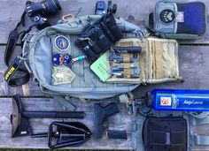 """""""Loadout: Weekend Camp Pack I love it when readers decide to share the content of their packs. Here's what Rob sent us… Visit http://packconfig.com/loadout/loadout-weekend-camp-pack/ for the full post """""""