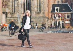 Fashion Hoax / Leather, Leather & Nikes //  #Fashion, #FashionBlog, #FashionBlogger, #Ootd, #OutfitOfTheDay, #Style