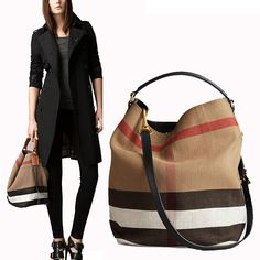 women canvas bucket bag fashion Plaid vintage handbags s Crossbody of ladies  brands famous designer leather casual bags eae0e5ad15