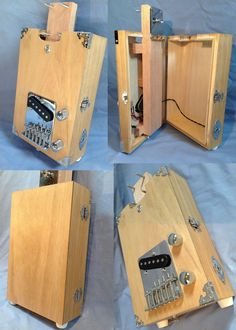 US $154.00 New in Musical Instruments & Gear, Guitars & Basses, Cigar Box Guitars