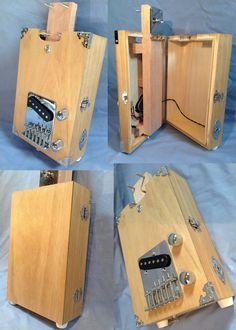 US $154.00 New in Musical Instruments & Gear, Guitars & Basses, Cigar Box Guitars