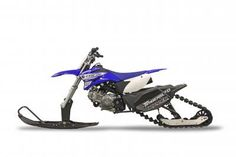 New Timbersled™ ST 90 Ripper Systems Convert 110cc Dirt Bikes Into Snow Bikes…