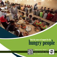 Only the source of #support for the #Hungry #People.!  300 Edhi Centres  75,000+ Easypaisa Shops  Or Visit http://edhi.org/   #Donations #Help #Zakat #Edhi #Poor