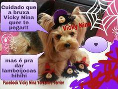 Vicky Nina Bruxa Halloween
