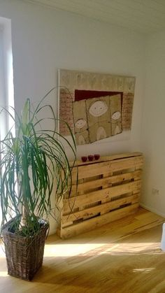 Radiator covers made from pallets #cheep #creativity