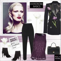 Wardrobe Basics: Spring Jacket by alves-nogueira on Polyvore featuring moda, True Decadence, Dolce Vita, Dolce&Gabbana, floral, dolceandgabbana, polyvoreeditorial and wardrobebasics