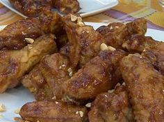 Sunny Anderson makes yummy PB&J spicy wings