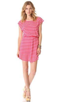 Splendid Striped Mini Dress $108.00