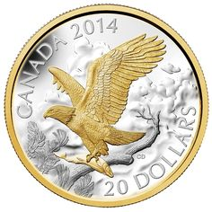 Coins for sale including Royal Canadian Mint products, Canadian, Polish, American, and world coins and banknotes. Bullion Coins, Gold Bullion, Largest Bird Of Prey, Gold American Eagle, Gold Eagle Coins, Canadian Coins, Gold And Silver Coins, Silver Bars, Mint Coins
