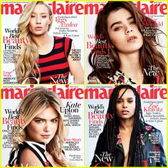 #Kate-Upton, Iggy Azalea, More Are Marie Claire's & Hailee Steinfeld 'New Faces' --- More News at : http://RepinCeleb.com  #celebnews #repinceleb #CelebNews