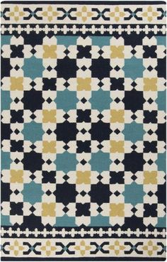 New Frontier flat weave rug from Surya (FT-469)