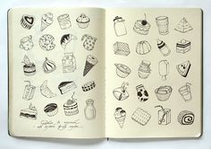 From moleska at Moleskine in Russian  #journal, #collection, #grid