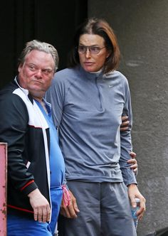 "Bruce Jenner was spotted leaving a LA plastic surgeon's office after reportedly having a procedure to soften the appearance of his Adam's apple. The former Olympic Champion, 64, sported a bandage around his neck as he left the Beverly Hills Surgical Center having reportedly undergone a ""laryngeal shave"" on Feb. 5, 2014."