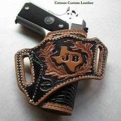 Nice custom leather holster.
