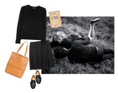 """""""campus (september)"""" by honeylucy ❤ liked on Polyvore featuring Dieppa Restrepo and A.P.C."""