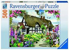 Ravensburger - puzzle 500 piezas casa inglesa