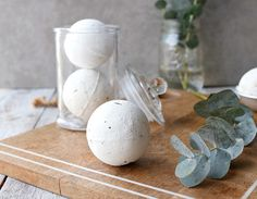 DIY Peppermint   Eucalyptus Bath Bombs for Colds, Sinus Relief   Achy Muscles