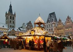 Germany: the Trier Weihnachtsmarkt (Christmas market) -- german christmas markets repinned by www.mybestgermanrecipes.com