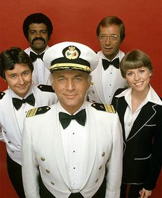 The Love Boat.  Saturday was this show and Fantasy Island. More of my Grandma's shows. I miss watching them with her. though I was young I remember.