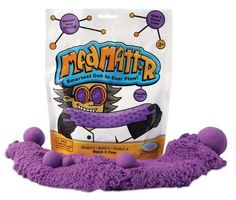 Buy Mad Mattr: Reusable Molding Doh - Purple at Mighty Ape NZ. Mad Mattr the smartest Doh to ever flow! Never Dries Out! Molds and shapes easily! Shape it, build it, stretch it, watch it flow. Modeling Dough, Rainbow Waterfall, Kinetic Sand, Mad Science, Unique Toys, Sand And Water, Fidget Toys, Sensory Toys, Creative Play
