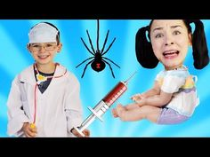 (29) Bad babies playing Doctor toys Family Fun Pretend Play Kids Song Nursery Rhymes for Children - YouTube Kids Nursery Rhymes, Rhymes For Kids, Playing Doctor, Kids Songs, Pretend Play, Babies, Toys, Children, Youtube