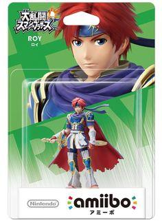 Nintendo amiibo Super Smash Bros. Roy 3DS Wii U Figure from Japan F/S #Nintendo