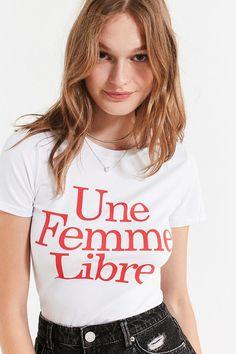 L'ecole Des Femmes L'ecole Des Femmes Une Femme Libre Tee #fashion #woman #style #ad #love #shopping